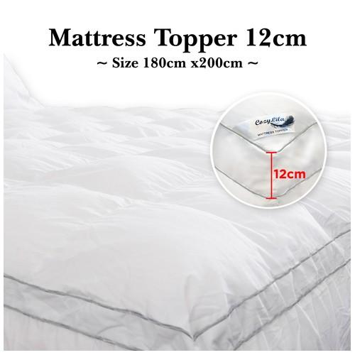 Cozylila Mattress Topper Bulu Angsa Featherlike 12cm 180 x 200