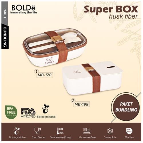 Package BOLDe Super Box Husk Fiber MB198 + MB 178