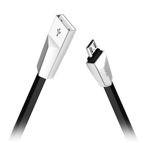 Hoco Zyrex X4 Zinc Alloy Rhombus Charging Micro USB Cable