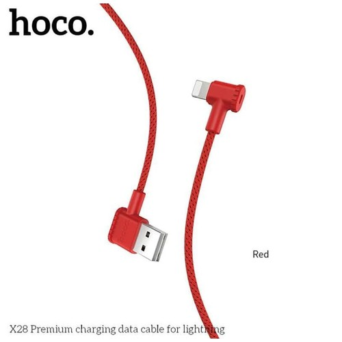 Hoco X28 Premium Charging Data Cable for Lightning iPhone