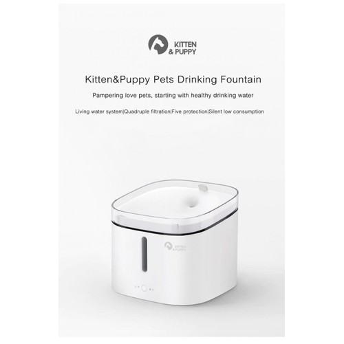 XIAOMI KITTEN PUPPY Automatic Pet Water Fountain Dispenser - MG-WF001A