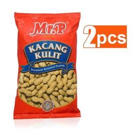 Mr. P Kacang Kulit 200 gr (