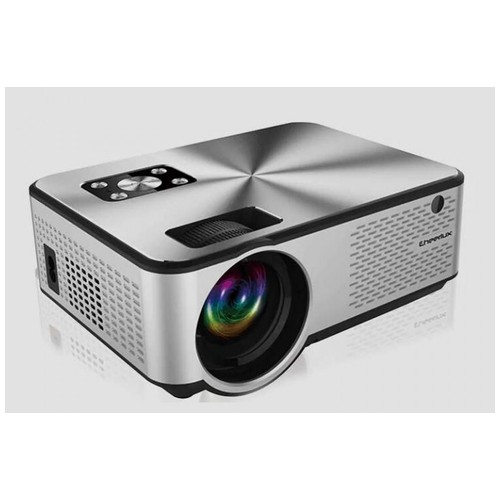 CHEERLUX C9 Android WiFi TV Tuner - LED Projector 2800 Lumens 1080P Silver