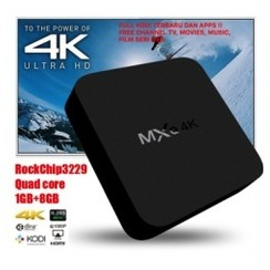 MXQ-4K Quad Core Android 7.1 Nougat TV Box 4K HD WIFI - FULL KODI [TKU]