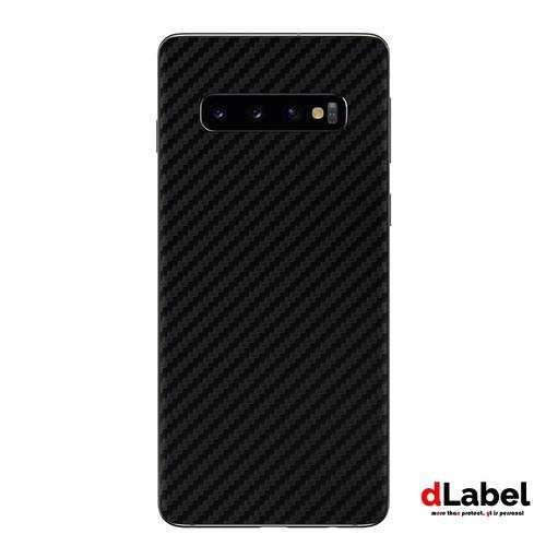 Samsung Galaxy S10 Carbon Fiber Skin powered by 3M - dlabel Garskin