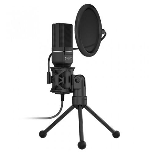 Yanmai SF-777 Condeser Microphone with Pop Filter & Tripod Stand Black [TKU]