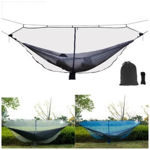 Outdoor Double Hammock Anti-Mosquito Net Nylon Mesh Gauze Protection [TKU]