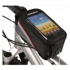 Roswheel Tas Sepeda Waterproof untuk 4.8 inch Smartphone - Black [TKU]