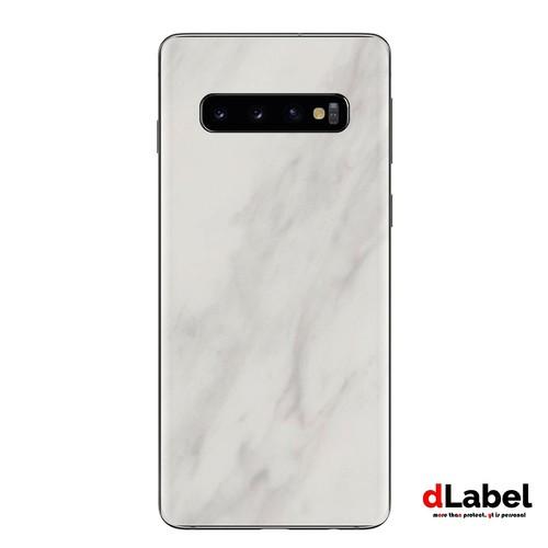 Samsung Galaxy S10 Marble Skin powered by 3M - dlabel Garskin