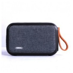 Original REMAX Portable Fabric Bluetooth Speaker - RB-M16 Black [TKU]