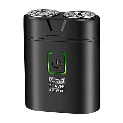 KEMEI KM-W301 Mini Portable Waterproof Electric Razor Type-C Charge [TKU]