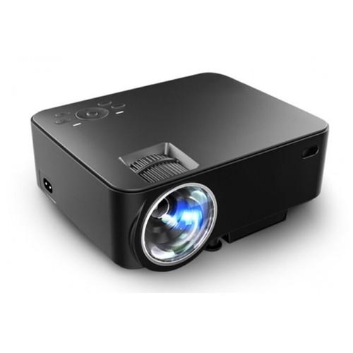 T20 LED Mini Multimedia Projector 1500 Lumens Support 1080p Black [TKU]