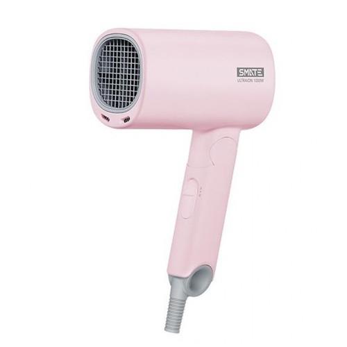 XIAOMI SMATE Mini Folding Hair Dryer - 1000W Ultra Ions 2 Speeds Pink [TKU]