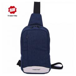 Original TIGERNU PREMIUM T-S8031 - Anti Theft Light-thin Crossbody Messenger Sling Shoulder Chest Pack Men Sports Bag Blue [TKU]