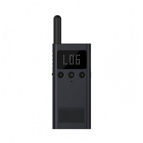 XIAOMI Mijia NEW Handy Talkie 1S with FM Radio MJDJJ03FY - Black [TKU]