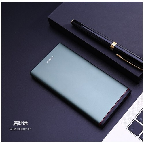 REMAX PRODA PD-P02 Suten Series Fast Charging QC3.0 10000mAh Powerbank Green [TKU]