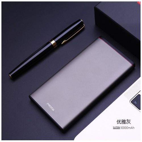 REMAX PRODA PD-P02 Suten Series Fast Charging QC3.0 10000mAh Powerbank Silver [TKU]