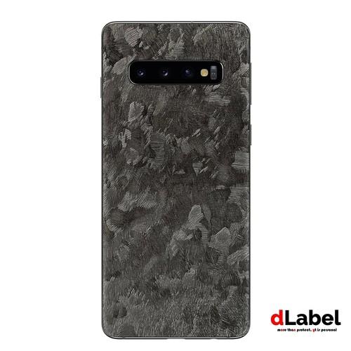 Samsung Galaxy S10 Forged Carbon Skin powered by Premium Vinyl - dlabel Garskin