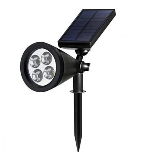 SL-50A - 200 Lumens Waterproof Solar 4 LED Outdoor Garden Spotlight [TKU]