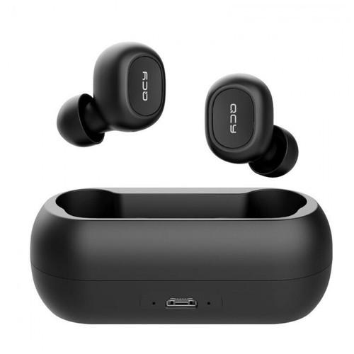 QCY T1C Binaural Mini Bluetooth V5.0 Earphone TWS with Charging Box [TKU]