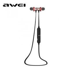 AWEI A980BL Bluetooth 4.0 Wireless Sports Earphones with Handsfree Songs Track Function Rose Gold [TKU]