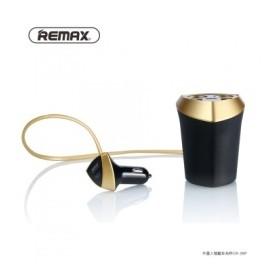 REMAX Smart Car Charger 3 U