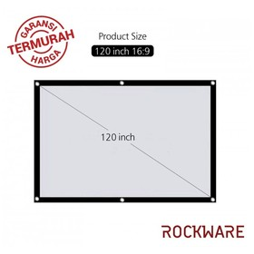ROCKWARE 120 Inch Polyester