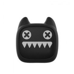 Original MR LEAF DEVIL CAT Z1 Mini Cartoon Portable Bluetooth Bass Cannon Wireless Audio Speaker Black [TKU]