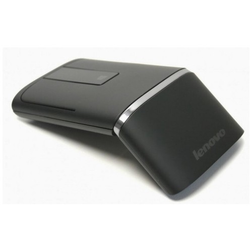 LENOVO N700 - Dual Mode Wireless Bluetooth Touch Mouse Laser Pointer Black [TKU]