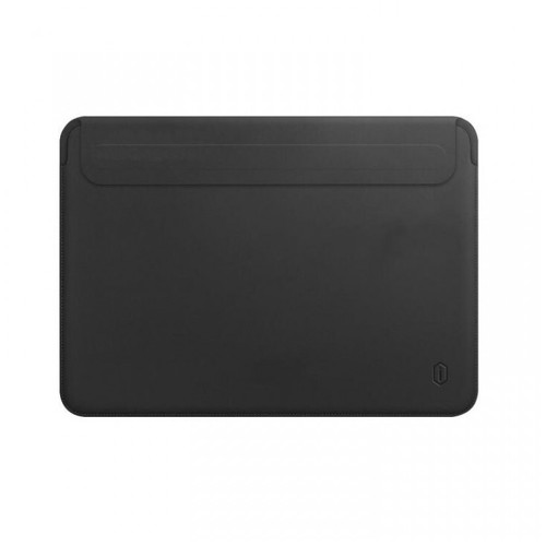 WIWU Skin Pro II - PU Leather Sleeve for MacBook Pro 15.4-inch Black