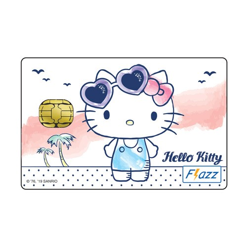 BCA Flazz Hello Kitty Putih