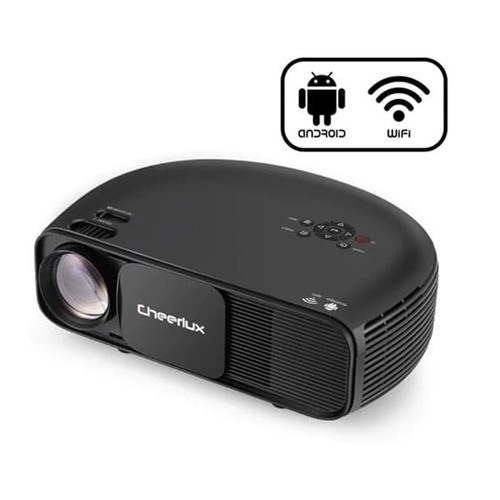 Cheerlux Android WiFi Proyektor 3200 Lumens with TV Tuner CL760