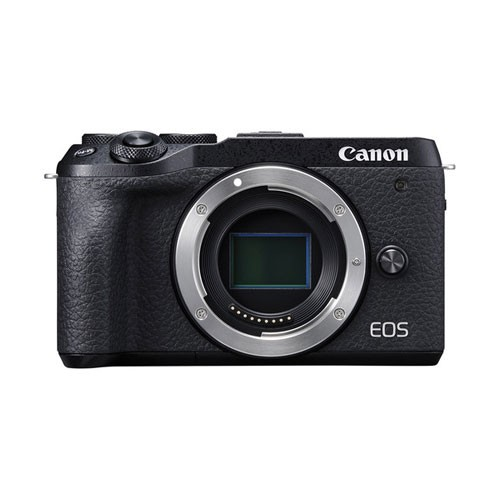 Canon EOS M6 Mark II Mirrorless Digital Camera Body Only - Black
