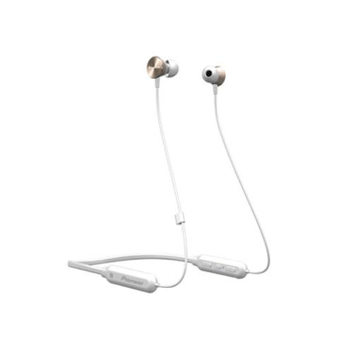 Pioneer In-Ear Wireless Neckband Headphone SE-QL7BT(R)CZU - Gold