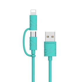 Usams 2in1 Cable Micro USB