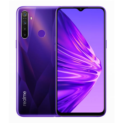 Realme 5 (RAM 4GB/128GB) - Crystal Purple