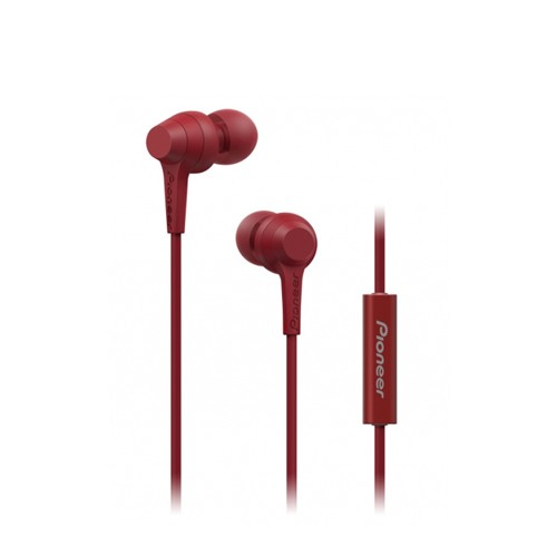 Pioneer In-Ear Headphone SE-C1T(R)CU - Red