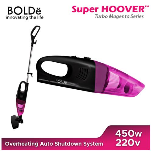 BOLDe Super Hoover Turbo Black Magenta Series
