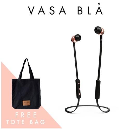 Sudio Bluetooth Headset Vasa Bla - Black