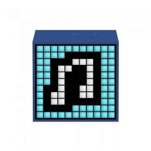 Divoom Timebox Mini Speaker Wireless Portabel - Blue