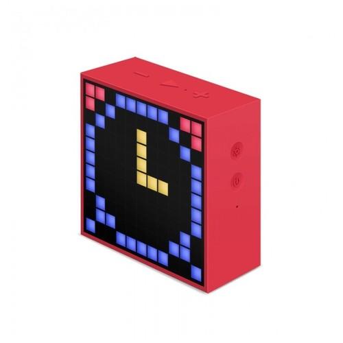 Divoom Timebox Mini Speaker Wireless Portabel - Red