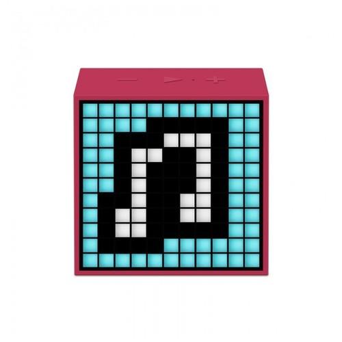 Divoom Timebox Mini Speaker Wireless Portabel - Pink