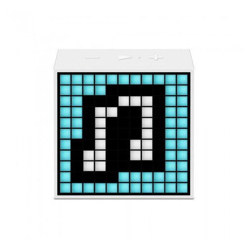 Divoom Timebox Mini Speaker Wireless Portabel - White