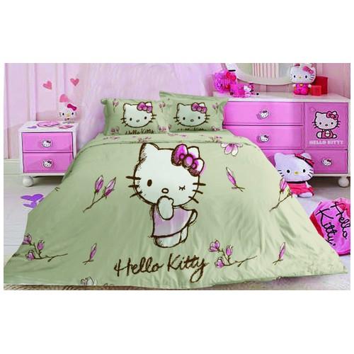 Original Sanrio Bed Cover Hello Kitty Magnolia