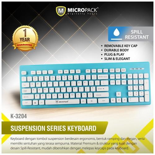 MicroPack Keyboard K3204