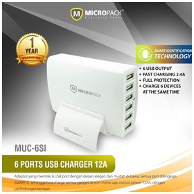 MicroPack USB Charger MUC-6