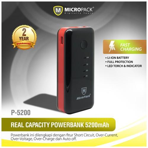 MIcroPack Power Bank P5200 (5200mAh)