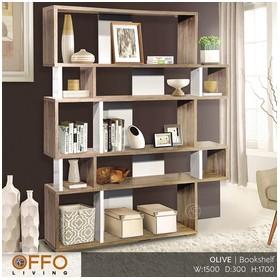 Offo Living - Rak Buku Pemb