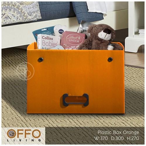 Offo Living - Kotak Plasti Serba Guna - Drawer Plastic RSS262610 Orange