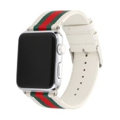 Fusion Series for Apple Watch 42-44mm White Red